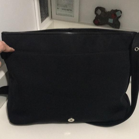 5b8c251677 Coach Handbags - Black Coach Vintage Neoprene Messenger Bag